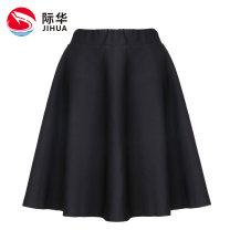 skirt Spring of 2019 XS/155 S/160 M/165 L/170 black Short skirt High waist JHCFS2983 71% (inclusive) - 80% (inclusive) Jihua Viscose Viscose fiber (viscose fiber) 72.6% polyamide fiber (nylon fiber) 24.1% polyurethane elastic fiber (spandex fiber) 3.3%
