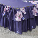 Bed skirt Bed skirt 120 * 200cm, bed skirt 150 * 200cm, bed skirt 180 * 200cm, bed skirt 180 * 220cm, bed skirt 200cm * 220cm polyester fiber Other / other Plants and flowers