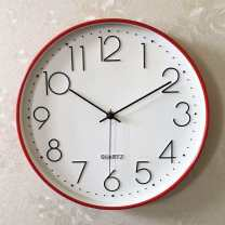 Wall clock / floor clock One side other 12 inches circular Second sweep movement PVC Glass Shop three guarantees 1.3kg