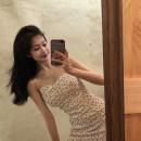 Dress Spring 2021 white S,M,L Short skirt singleton  Sleeveless commute High waist Decor Socket camisole 18-24 years old Korean version