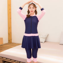 one piece  Zdy M,L,XL,XXL,XXXL Dark blue pink No chest pad male Short sleeve Casual swimsuit