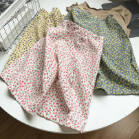 skirt Spring 2021 S,M,L Yellow, green, pink Short skirt commute High waist skirt Solid color Type A 18-24 years old FG514410 30% and below Other / other other Korean version