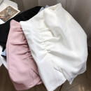 skirt Summer 2021 S,M,L Blue skirt, pink skirt, white skirt, black skirt commute High waist Solid color 25-29 years old FG309648 30% and below other Other / other other