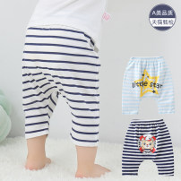 trousers Bufan bear neutral 66cm 73cm 80cm 90cm 100cm summer Cropped Trousers leisure time There are models in the real shooting Big PP pants Leather belt middle-waisted Pure cotton (100% content) Don't open the crotch Cotton 100% Class A Summer of 2019 Chinese Mainland Guangdong Province