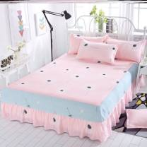 Bed skirt polyester fiber Other / other Plants and flowers Qualified products A35432