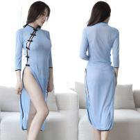 Nightdress Sleep and admire blue Average size 80-120 Jin