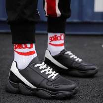 Low top shoes Dc18 black , Dc18m red , Dc18m black 44,39,40,41,42,43 Other / other PU Frenulum Round head Logging shoes Netting motion daily Solid color Flat heel spring and autumn rubber wear-resisting Injection pressure shoes Youth (18-40 years old), children (under 18 years old) Sewing