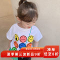 T-shirt white yojia 80cm 90cm 100cm 110cm 120cm 130cm 140cm 150cm female summer Short sleeve Crew neck Korean version There are models in the real shooting nothing other Cartoon animation Other 100% 21XD112 other Summer 2021