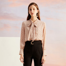 shirt Foundation flower S,M,L Autumn of 2019 other 96% and above