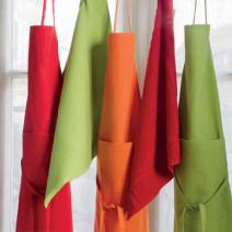 napkin European style cotton Orange light green dark grey red 60*90cm Lasapure apron CASAVOGO