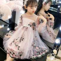 Dress female 110cm 120cm 130cm 140cm 150cm 160cm Other 100% spring and autumn princess Long sleeves other other A-line skirt Class B Spring 2021 3 years old, 4 years old, 5 years old, 6 years old, 7 years old, 8 years old, 9 years old, 10 years old, 11 years old, 13 years old, 14 years old