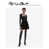 skirt Autumn 2020 0 2 4 6 A001 Short skirt High waist CC010B69302-1 More than 95% Alice&Olivia polyester fiber Polyester 97% polyurethane elastic fiber (spandex) 3%