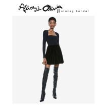 skirt Autumn 2020 0 2 4 6 A001 Short skirt High waist CC010B69302-1 More than 95% Alice&Olivia polyester fiber Polyester 97% polyurethane elastic fiber (spandex) 3%