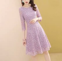 Dress Spring 2021 Picture color S. M, l, XL, 2XL, Hong Kong, Macao and Taiwan freight