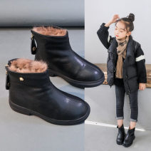 Boots / snow boots synthetic leather neutral Dumbledore 26 27 28 29 30 31 32 33 34 35 36 37 rubber winter Martin boots Low boots Flat bottom Sewing children Winter 2020
