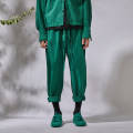 Casual pants Yewu Youth fashion Moss Green 1S 1M 1L 1XL routine trousers Other leisure Straight cylinder No bullet youth 2020 middle-waisted Cotton 100% Solid color cotton Spring 2020 More than 95%