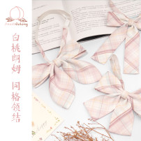 Hanfu 96% and above Summer 2020 End of pre sale Rabbit ear bow tie, flat angle bow tie, long handle bow tie, hand tie polyester fiber
