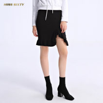 skirt Spring of 2018 XS S M Black G24 Short skirt Natural waist 681RJ3100000 51% (inclusive) - 70% (inclusive) Miss sixty Viscose Viscose fiber (viscose fiber) 66.3% polyamide fiber (nylon) 32.6% polyurethane elastic fiber (spandex) 1.1% Same model in shopping mall (sold online and offline)