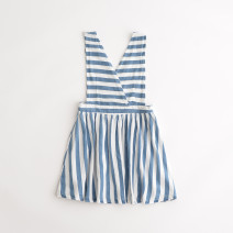 Dress As shown in the picture female Other / other 34(128CM-134CM),36(134CM-140CM),38(140CM-146CM),40(146CM-152CM),42(158CM-164CM) Polyethylene terephthalate (polyester) 100% summer Skirt / vest cotton Eight, 11, 12, 13, 14