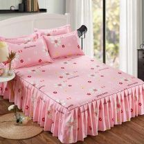 Bed skirt 120x200cm pillow case today, 150x200cm pillow case today, 180x200cm pillow case today, 200x220cm pillow case today, 180x220cm pillow case today cotton Other / other Plants and flowers First Grade