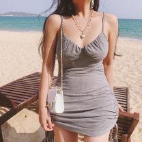 Dress Summer 2021 Gray, black S,M,L