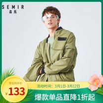 Jacket Semir / SEMA Youth fashion Shell card 5214, earth grey green 4908 160/80A/XS,165/84A/S,170/88A/M,175/92A/L,180/96A/XL,185/100A/XXL,185/104B/XXXL routine easy Other leisure autumn 19-059081316 Cotton 66.8% polyester 33.2% Long sleeves Wear out Baseball collar Youthful vigor youth routine 2019