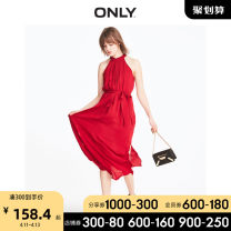 Dress Summer of 2019 C12 Roebuck F16 Rio Red 155/76A/XS 160/80A/S 165/84A/M 170/88A/L 175/92A/XL longuette singleton  Sleeveless Sweet Crew neck Loose waist Solid color Socket 18-24 years old ONLY More than 95% other Viscose (viscose) 100% Ruili Same model in shopping mall (sold online and offline)