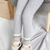 trousers Chixin bear female 90cm 100cm 110cm 120cm 130cm 140cm 150cm spring and autumn trousers Korean version There are models in the real shooting Leggings Leather belt middle-waisted cotton Open crotch Cotton 85.2% polyester 13.8% polyurethane elastic fiber (spandex) 1% Q2036 Spring 2020