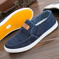 canvas shoe 38 39 40 41 42 43 44 45 other Low Gang Flat heel spring and autumn leisure time cloth rubber ventilation Solid color Youth (18-40 years old) Sewing Daily leisure Summer of 2019 cloth