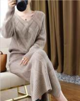 Fashion suit Autumn of 2019 S M L XL XXL Black Camel 25-35 years old Chen Menglai wool Wool 100% Pure e-commerce (online only)