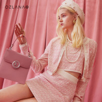 T-shirt Pink (knitted cardigan) pink (knitted skirt) pink (knitted top) S M L Summer 2021 Short sleeve Crew neck Self cultivation have cash less than that is registered in the accounts routine Viscose 71% (inclusive) - 85% (inclusive) Ozlana AU219017 Viscose (viscose) 80% polyamide (PA) 20%