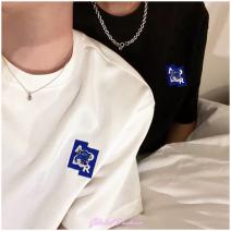 T-shirt Fashion City White, black routine A1,A2,A3 ADER ERROR ADER Short sleeve Crew neck easy Other leisure summer GF40218 Cotton wool cotton Fashion brand