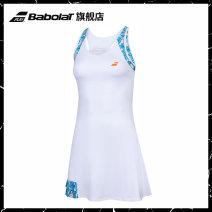 Tennis clothes female White / decor XS S M L XL Babolat / baboli Dress 8WS20091C2 Summer 2020 yes