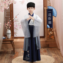 Tang costume Other 100% male spring and autumn There are models in the real shooting routine other Class B 3 years old, 4 years old, 5 years old, 6 years old, 7 years old, 8 years old, 9 years old, 10 years old, 11 years old, 13 years old, 14 years old Chinese Mainland Jiangsu Province Autumn 2020
