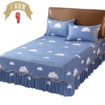 Bed skirt 150cmx200cm bed skirt three piece set Polypropylene fiber Other / other stripe