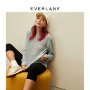 sweater Spring 2021 XXS XS S M L XL Heather Mint cinnamon black nut sugar Long sleeves Regular cotton 95% and above EVERLANE 1902_ eight thousand eight hundred and twenty-one Cotton 100%