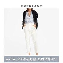 Casual pants Bone white / (short / short) bone white / (long / tall) bone white / (regular / regular) XS/00 XS/0 S/2 S/4 M/6 M/8 L/10 L/12 XL/14 XL/16 XXL/18 XXL/20 Autumn of 2019 trousers Straight pants High waist 1206_ five thousand seven hundred and forty-eight EVERLANE