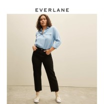 shirt Butter light grey blue XS/00 XS/0 S/2 S/4 M/6 M/8 L/10 L/12 XL/14 XL/16 Spring 2021 silk 96% and above Long sleeves Versatile Regular square neck Solid color 30-34 years old EVERLANE 1451_ eight thousand eight hundred and seventy-four Mulberry silk 100%