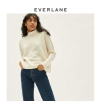 Wool knitwear Autumn of 2019 XXS XS S M L XL Light grey Ivory Long sleeves other More than 95% Regular 628_ six thousand six hundred and ninety-five EVERLANE Cashmere (cashmere) 100%
