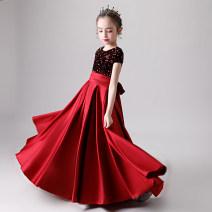 Children's dress female 100cm 110cm 120cm 130cm 140cm 150cm 160cm full dress Z250 Class B Polyester 100% Spring 2020 2 years old, 3 years old, 4 years old, 5 years old, 6 years old, 7 years old, 8 years old, 9 years old, 10 years old, 12 years old, 13 years old, 14 years old