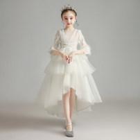 Children's dress female Princess Zizi full dress Z331 Class B Polyester 100% Summer 2020 2 years old, 3 years old, 4 years old, 5 years old, 6 years old, 7 years old, 8 years old, 9 years old, 10 years old, 12 years old, 13 years old, 14 years old princess