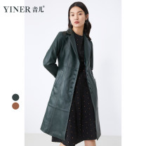 leather clothing Sound Winter 2020 38 / M / 110 kg, 40 / L / 120 kg, 42 / XL / 130 kg, 44 / XXL / 145 kg Camel, dark green routine Long sleeves easy commute tailored collar routine 8C61509686 other 30-34 years old 31% (inclusive) - 50% (inclusive)