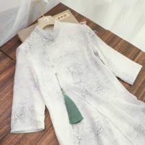 jacket Spring 2021 M suggests 80-100kg, l 100-120kg, XL 120-140kg, 2XL 140-160kg, 3XL 160-180kg, 4XL 180-200kg 4029 white dress Other / other 30% and below