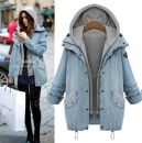 short coat Spring of 2019 2XL,3XL,4XL,5XL,6XL,M,L,XL Picture color Long sleeves have cash less than that is registered in the accounts routine Two piece set easy other raglan sleeve Hood Single breasted Solid color Lace up, button 108#