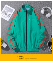 Jacket Champion rhinoceros Youth fashion M L XL 2XL 3XL 4XL routine standard Other leisure spring A-4 Polyester 100% Long sleeves Wear out stand collar tide youth routine zipper Straight hem Spring 2021 Pure e-commerce (online only) polyester fiber 90% (inclusive) - 95% (inclusive)