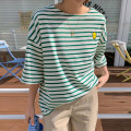 T-shirt Dark blue, green, black, pink Average size Summer 2021 elbow sleeve Crew neck easy Regular routine commute cotton 96% and above Korean version