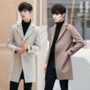 woolen coat M (recommended 85-108 kg), l (recommended 110-125 kg), XL (recommended 128-140 kg), 2XL (recommended 142-150 kg), 3XL (recommended 152-170 kg), 4XL (recommended 172-185 kg), 5XL (recommended 190-220 kg), 3 yuan for 5 points Others Youth fashion Polyester 93% other 7% Medium length Hood
