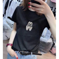T-shirt White (shoe ironing) black (shoe ironing) S M L XL XXL Spring 2020 Short sleeve Crew neck Self cultivation Regular routine commute cotton 86% (inclusive) -95% (inclusive) Korean version Mo Rong's salary Cotton 95% polyurethane elastic fiber (spandex) 5% Exclusive payment of tmall