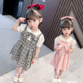 Dress Black, pink female Other / other 120cm,100cm,130cm,110cm,90cm Other 100% summer princess Skirt / vest other Cotton blended fabric Splicing style 18 months, 2 years old, 3 years old, 4 years old, 5 years old, 6 years old