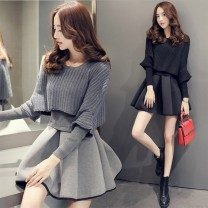Women's large Autumn 2020 Black suit [fabric problem, don't place an order for the time being] grey suit fabric problem, don't place an order for the time being S m large L Large XL Large XXL large XXXXL large 00UJ9y0 Xiang youbei Other 100.00%